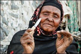 FGM gammel dame