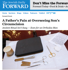 A Father's Pain at Overseeing Son's Circumcision