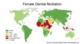 Udbredelsen af pigeomskæring på verdensplan